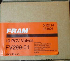Fram FV234 PCV Valve Fits 1978-1996 Toyota Previa Celica