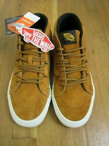 684282e7 Details about Vans Mens Sk8-Mid Reissue MTE All Weather Sudan Brown Skate  shoes Size 10.5 NWT