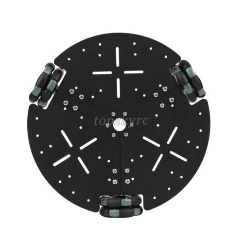 58mm Omni Directional Metal Wheel Robot Car Chassis Platform DIY Smart Car new