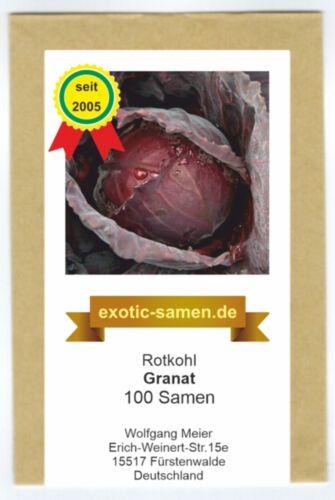 ROTKOHL GRANAT 100 SAMEN