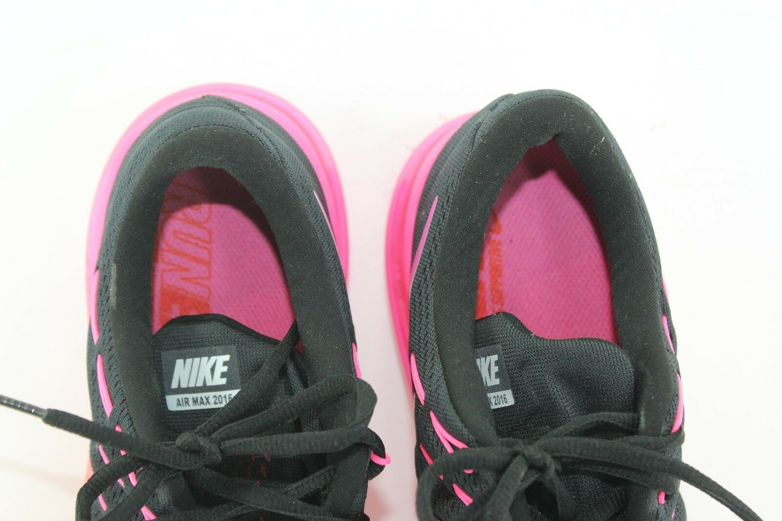 new arrivals 1a189 0b373 ... NIKE AIR 2016 BLACK PINK IN PRISTINE CONDITION SZ SZ SZ 12 WOMEN S  b48200 ...