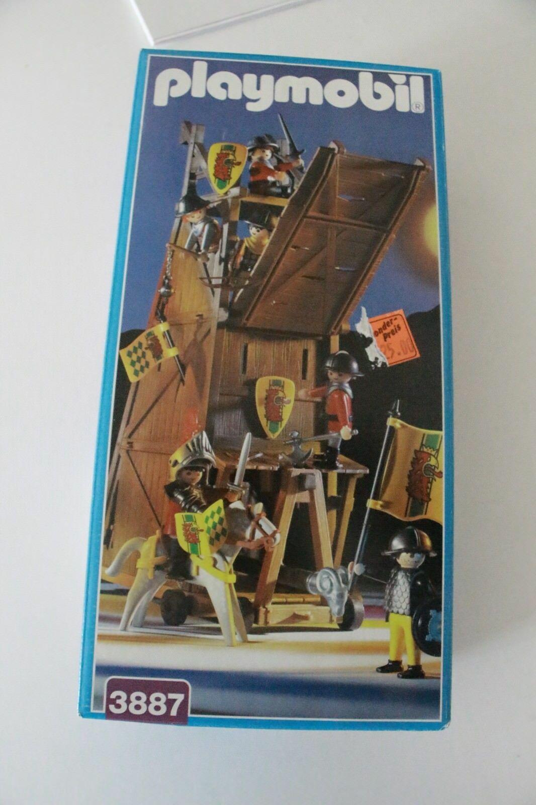 Playmobil 3887 SIEGE TOWER Comme neuf IN BOX  OVP  Comme neuf IN BOX  SPECIAL