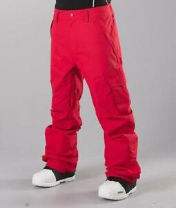 Rip-Curl-FOCKER-SNOW-PANT-Mens-Snowboard-Ski-Pant-New-SCPBC4-Chilli-Pepper