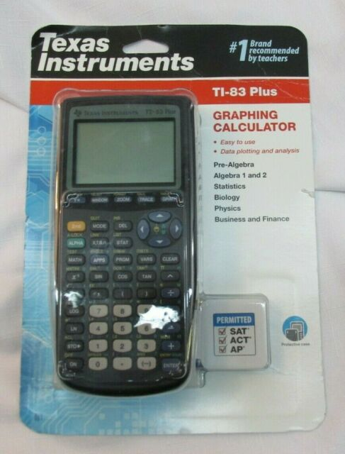 Texas Instruments TI-83 Plus Graphing Calculator