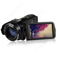 Hdv-z20 1080p Digital Video Camera 3 Lcd 16x Zoom Camcorder Dv 24mp Dvr+tripod