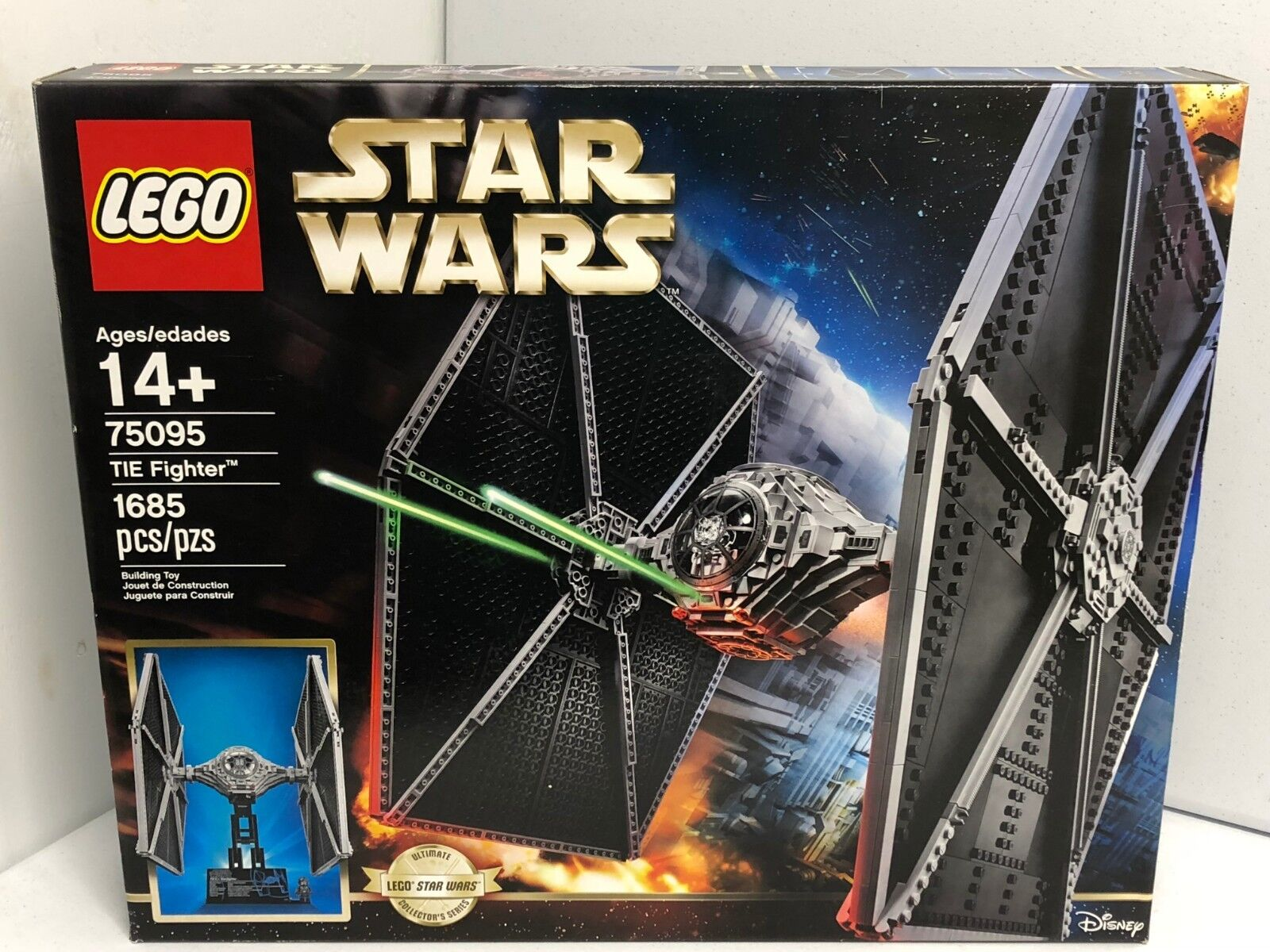 Lego 75095 TIE Fighter UCS NEW SEALED BOX HTF SOLD OUT IN STORES Pilot