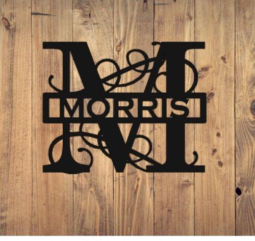 Metal Wall Art Monogram M ***Free Design***