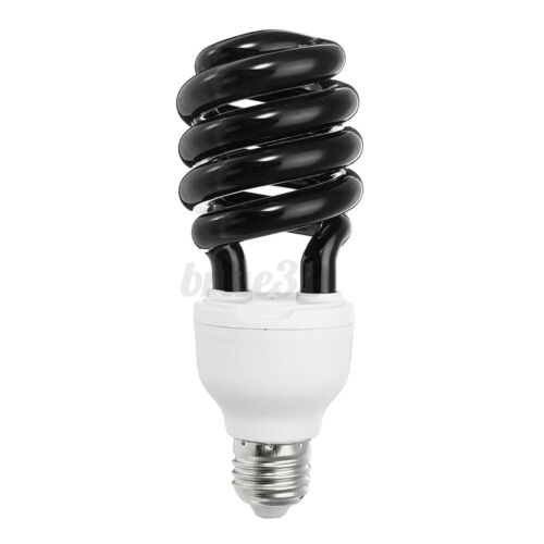 E27 220V//110V Blacklight Low Energy CFL UV Light Bulb Screw Germicidal Lamp 40W