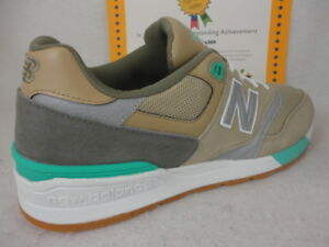 pretty nice 653e2 af247 Details about New Balance ML597NOC, Brown / Grey / Green, Lifestyle, Mesh /  Suede, Size 13