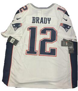 New Tom Brady 2X Vapor Mens New England Patriots White Limited ...