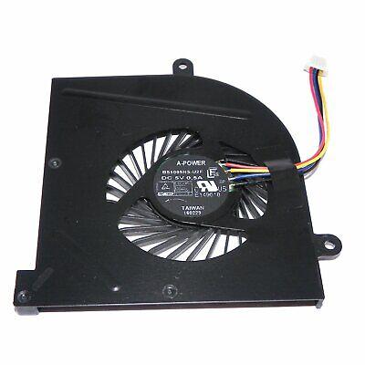 Original New MSI GS63VR GS73VR Stealth Pro Laptop CPU Cooling Fan BS5005HS-U2F1