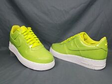 Nike Air Force 1 '07 Lv8 UV Mens Aj9505 300 Cyber Patent Leather Shoes Size 9