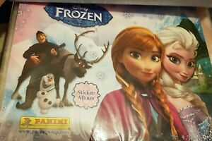 Panini Disney Frozen Sticker Album 2013 Complete (Rare Landscape) Excellent Cond