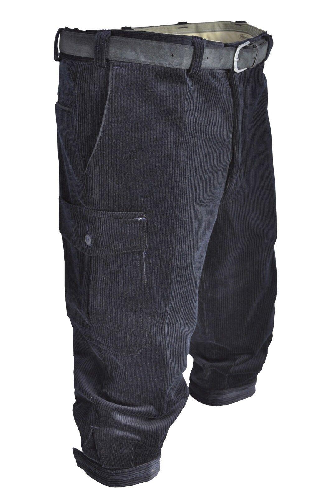 Stretch-Cord Kniebundhose Wanderhose Bein-und Bein-und Wanderhose Messertasche Hubertus in 3 Farben 1f92d6