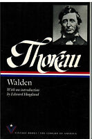 Walden 1991 By Henry David Thoreau, Vintage Books - Softcover
