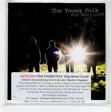 (GD812) The Young Folk, Way Down South - 2014 DJ CD