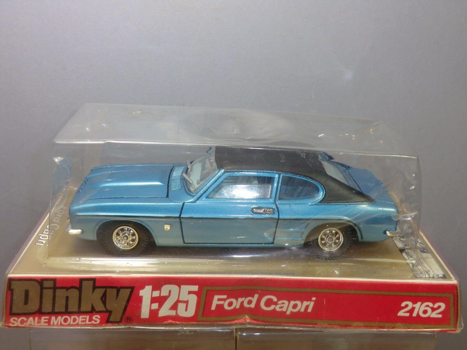 Schäbiges toys  großen modell, no.2162 ford capri sports saloon im mib