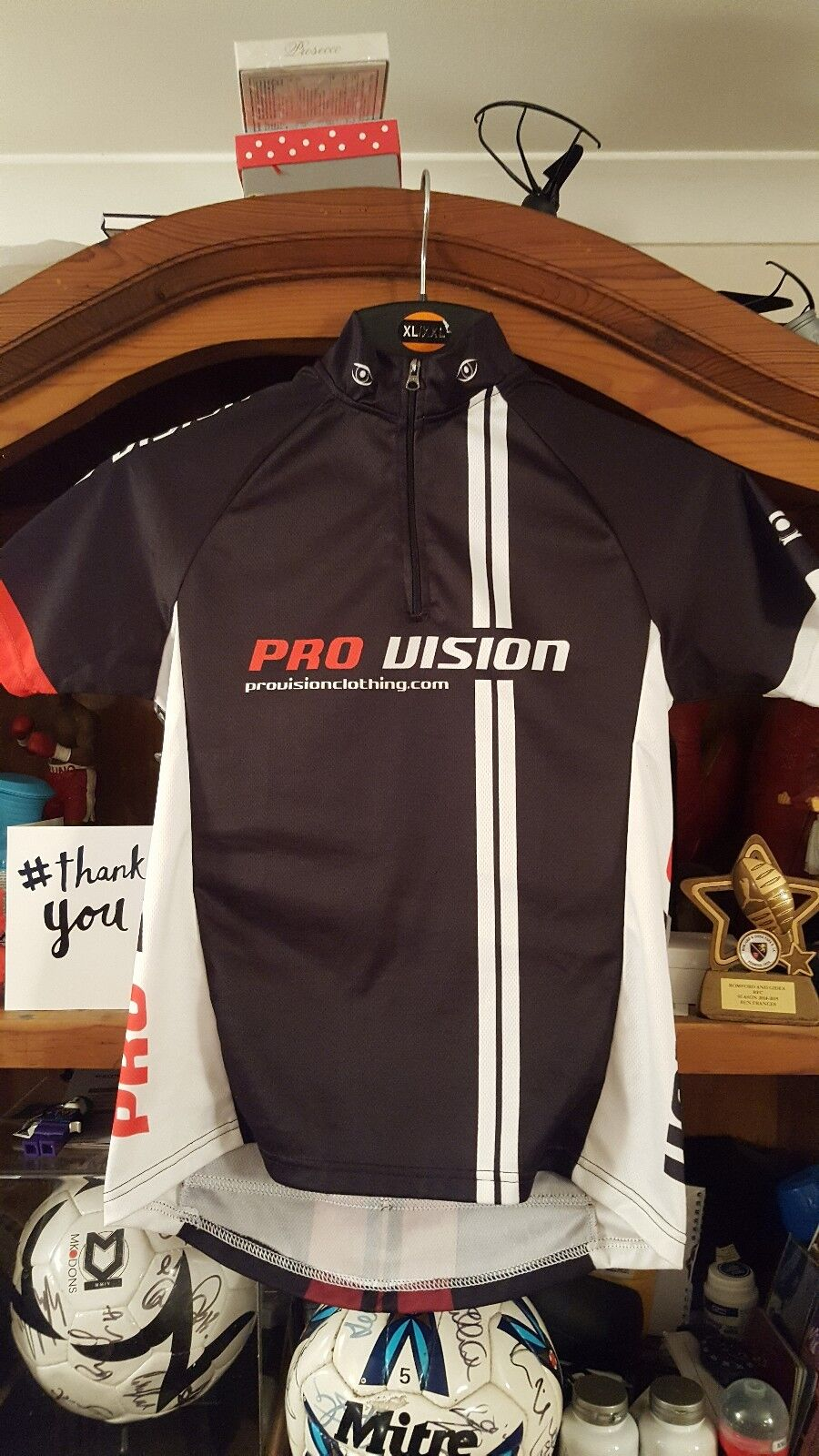 PRO-VISION  1 4 zip cycling racing  size small 36