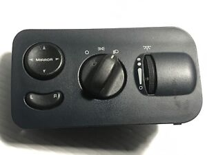 Image Is Loading 2001 2005 Dodge Caravan Headlight Switch W Fog