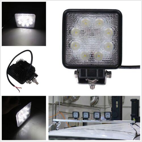 Auto 4x4 Truck ATV SUV 27W 9 LED Driving Fog Light Off Road Lamp Spot Work Light