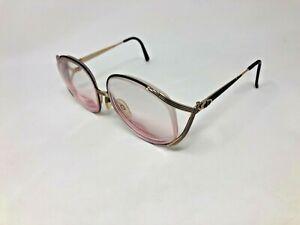 CHRISTIAN-DIOR-2387-49-Sunglasses-Frame-Austria-58-16-125-Black-Gold-CG50
