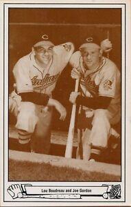 1983-TCMA-Postcard-1-1948-Indians-Lou-Boudreau-and-Joe-Gordon