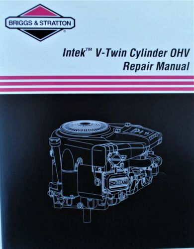 Genuine OEM Briggs /& Stratton 273521  repair manual intk v2 ohv