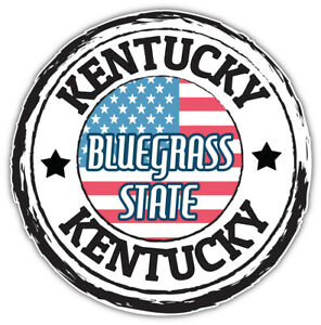 "Illinois USA State Grunge Emblem Car Bumper Sticker Decal /""SIZES/"""