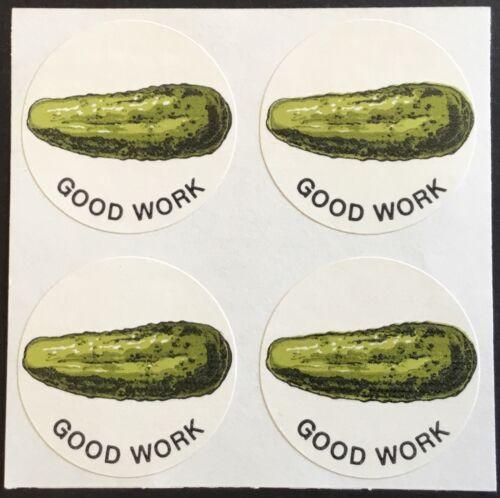 4 Block Vintage CTP Scratch /& Sniff Stickers Excellent!! Pickle