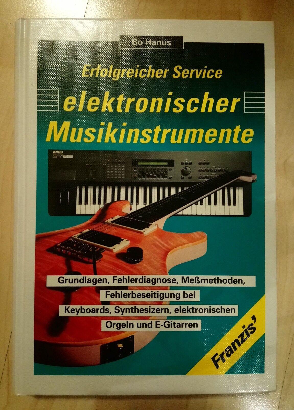 Erfolgreicher Service elektronischer Musikinstrumente Hammond u.a. Rarität