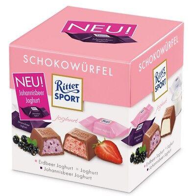 Ritter Sport Chocolate Cube Box Yogurt German Product Ebay