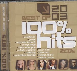 Various-Artists-100-Hits-Best-of-2003-2CD