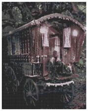 Romany Gypsy Caravan 2 - 14 Count Cross Stitch Kit