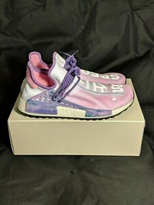 new arrival 75969 5097a Details about Adidas Pharrell Williams Human Race HU NMD Holi Festival Pink  Glow Size 12