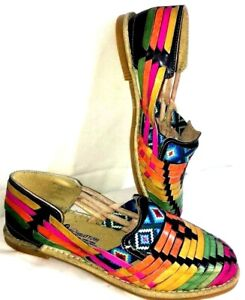 Mexican huarache leather sandal casual