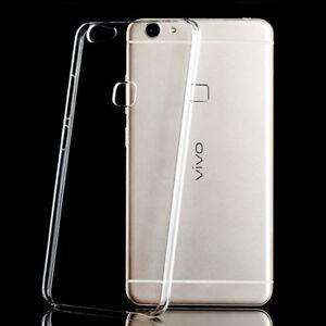 finest selection ad517 40aa4 Details about For VIVO V7 V7plus Crystal Clear hard case diy Back cover