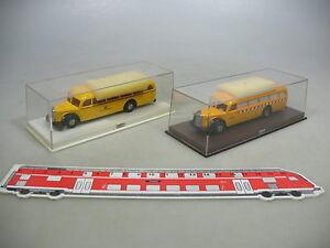 Af2-0-5-2x-Brekina-h0-furgoneta-mercedes-Benz-MB-o-5000-5001-5021-top-embalaje-original