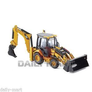 1-50-Norscot-Caterpillar-CAT-432E-Side-Shift-Backhoe-Loader-Die-Cast-55149