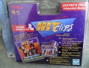 MICRO-MUSIC-CLIP-DESTINY-039-S-CHILD-INDIPENDENT-WOMAN-TIGER-HASBRO