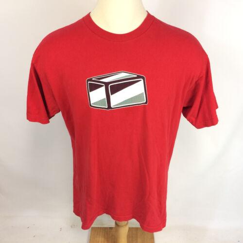 Rare Vintage 1990s Shortys Skateboard T Shirt Red