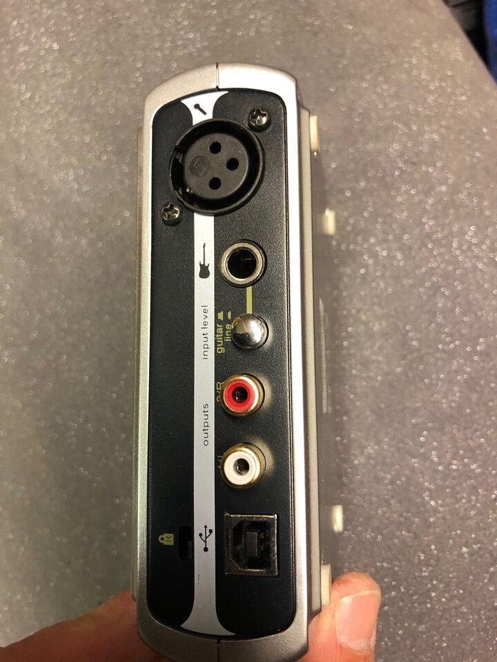 Lydkort, M-Audio Fasttrack