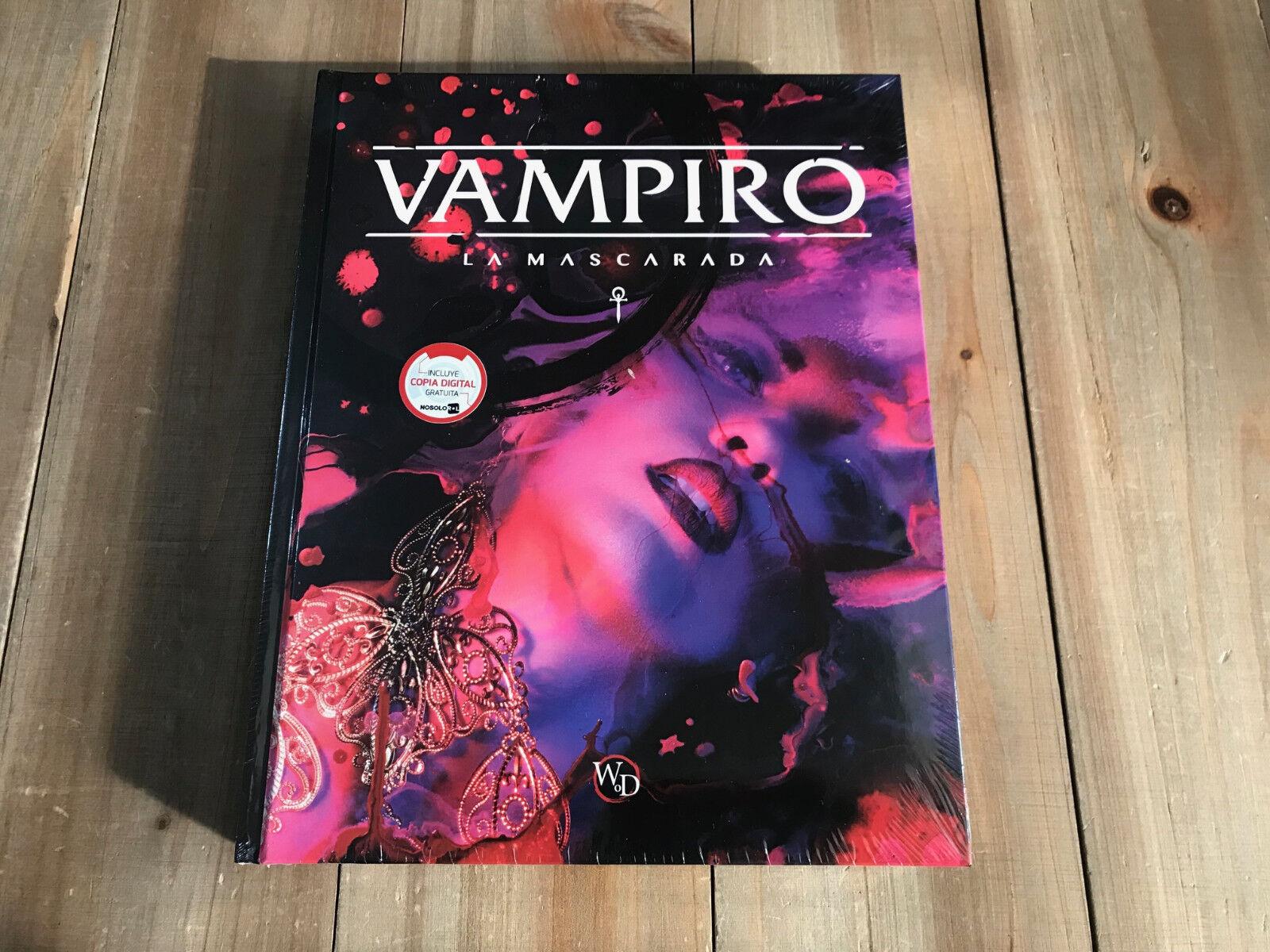 Vampir - maskenball - die buch - quinta - edition v5 - rol - nosolGoldl