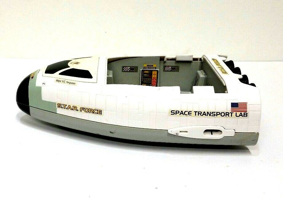 S.T.A.R. FORCE Lanard The Corps Starforce Space Transport Lab Shuttle Ship Toy