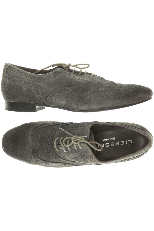 Damen Halbschuhe Schnürschuhe Brogues Loafers Schnürer Freizeit Flach Schuhe