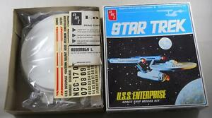 Vintage 1975 AMT Star Trek NCC 1701 USS Enterprise Model Kit S951 New in Box/Bag