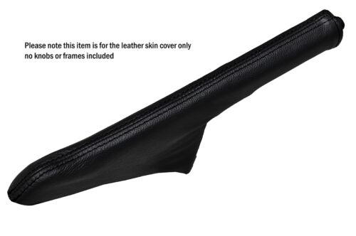 BLACK STITCH LEATHER HANDBRAKE GAITER FITS FORD ESCORT MK3 MK4 XR3I RS TURBO