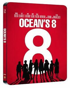Ocean-039-s-8-Cofanetto-Blu-Ray-Disc-Steelbook-Nuovo-Sigillato