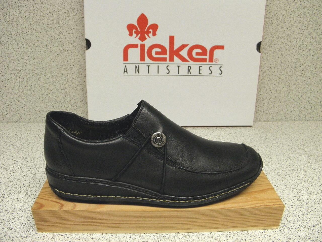Rieker ® réduit, sale, noir, top prix + Gratuit Premium-Chaussettes (r296)