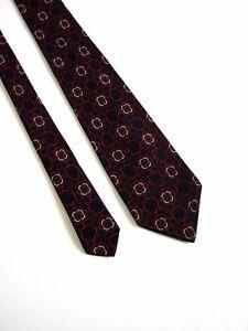 PURA-LANA-Cravatta-Tie-Vintage-80-YEARS-100-LANA-WOOL