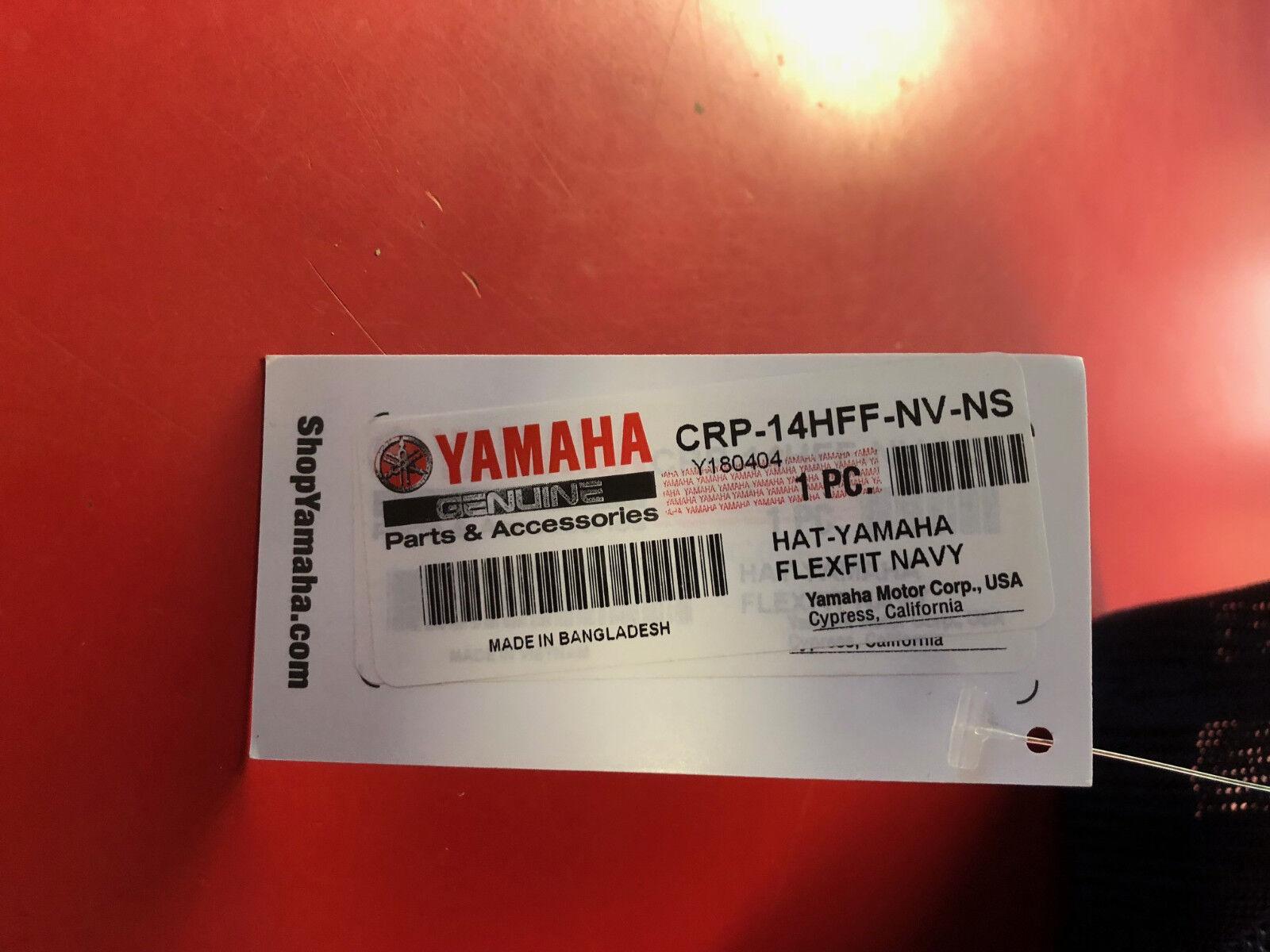 d389e7dc4a138 Navy Yamaha Flexfit Hat CRP-14HFF-NV-NS